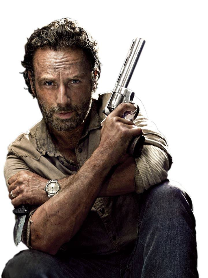 charcter analysis of rick grimes