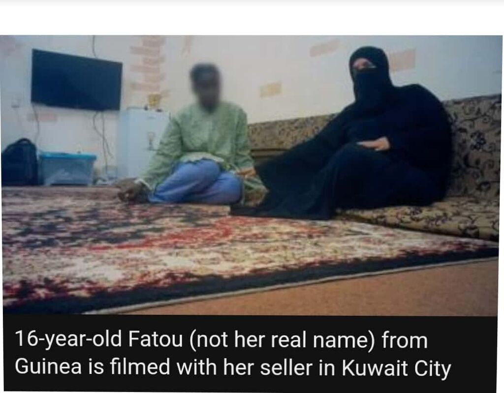 BBC Undercover Journalists Find Apps Used By Arabs To Buy African Slaves 3