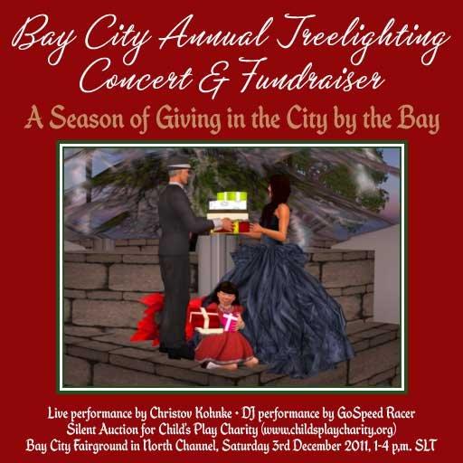 Bay City Treelighting Fundraiser
