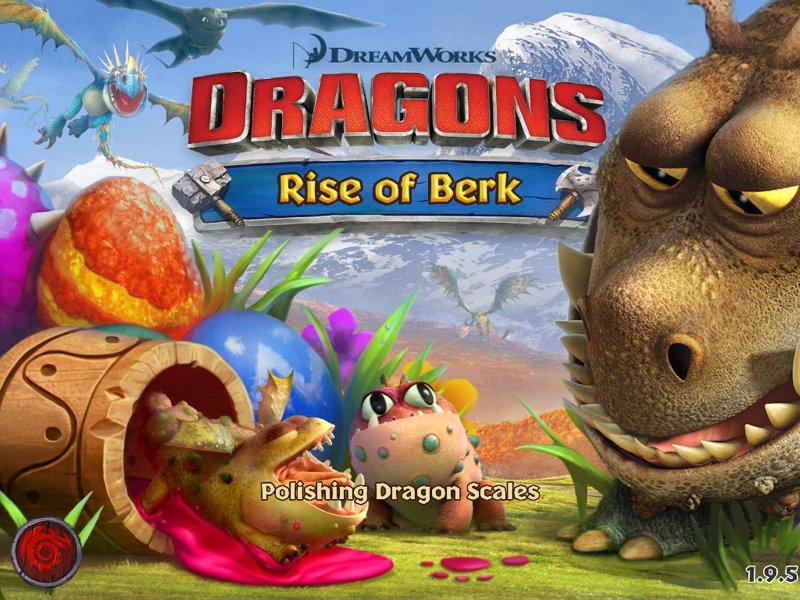 Взлом игры dragon rise of berk.