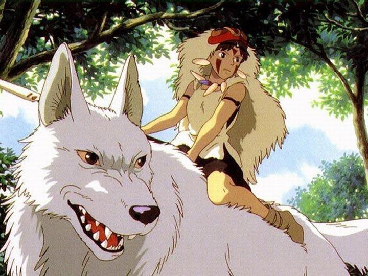 魔法公主_┤小桑 魔法公主├ 騎著山犬在森林裡閒逛。 - #cwp8vk - Plurk