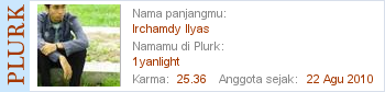 Irchamdy di Plurk
