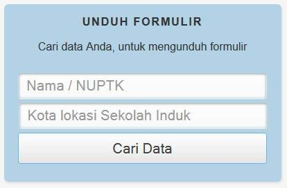 Pengajuan NUPTK Online Terbaru 2013 - Online Education and Tranning