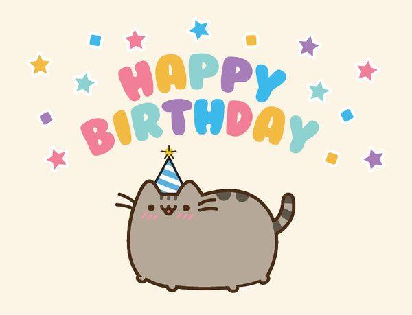 Няшные поздравления с днем рождения подруге