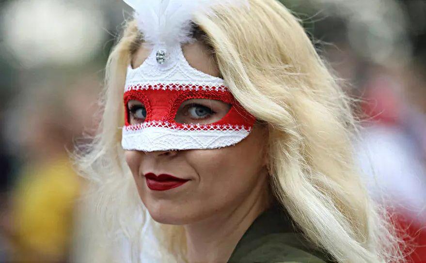 Valko-Venäläinen mellakoitsija