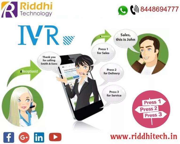 Riddhitech - #IVR Services   #Toll Free Service   #Bulk SMS