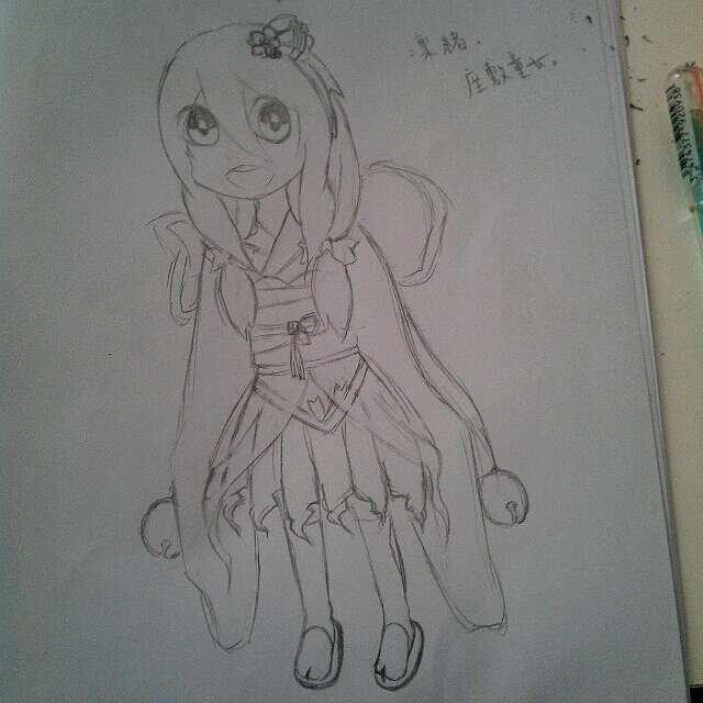精灵公主手绘图
